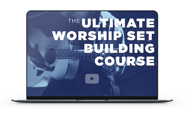 The Ultimate Worship Set Building Course Online - Tablet